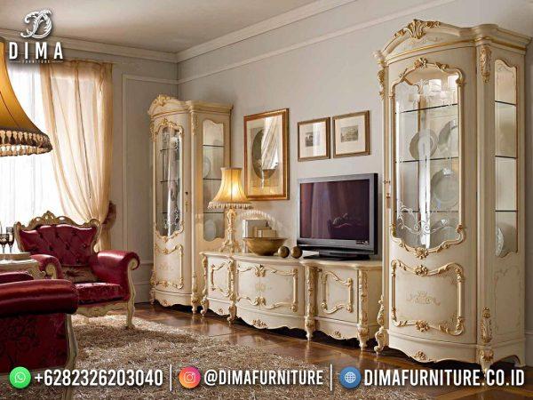 Harga Bufet TV Mewah Ukir Jepara Luxury Design Interior Inspiring ST-1618
