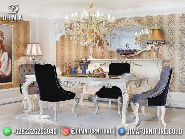 Jual Meja Makan Mewah Elegant Wonderfull Type Furniture Jepara Release Terbaru ST-1624