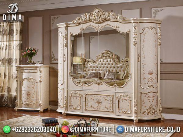 Lemari Pakaian Mewah Carlotta Furniture Jepara Terbaru Best Product ST-1616