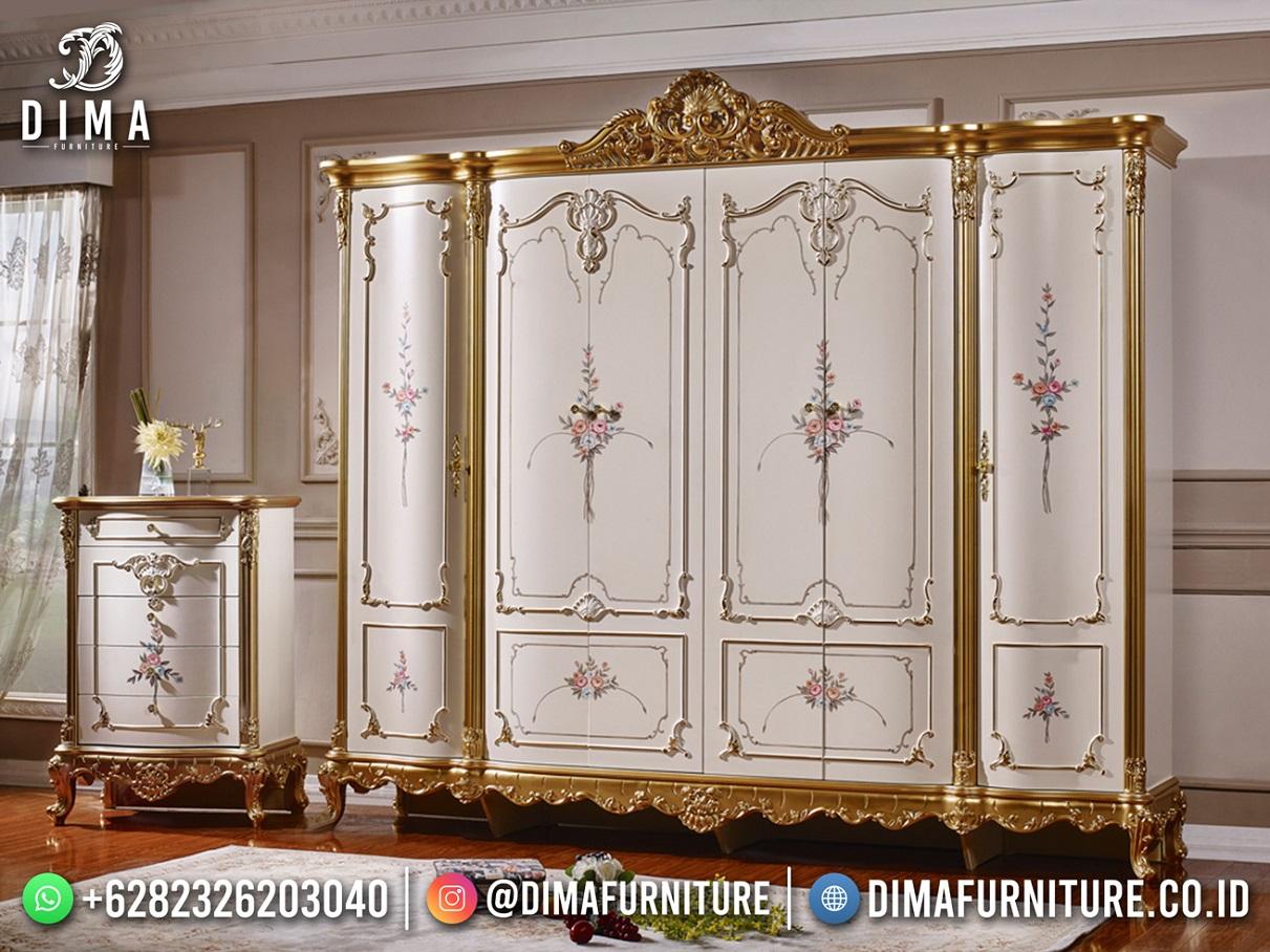 Lemari Pakaian Mewah Ukir Jepara Luxury Carving Elegant Style ST-1617