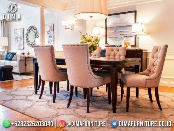 Model Meja Makan Mewah Jepara Classy Furniture Jepara ST-1606
