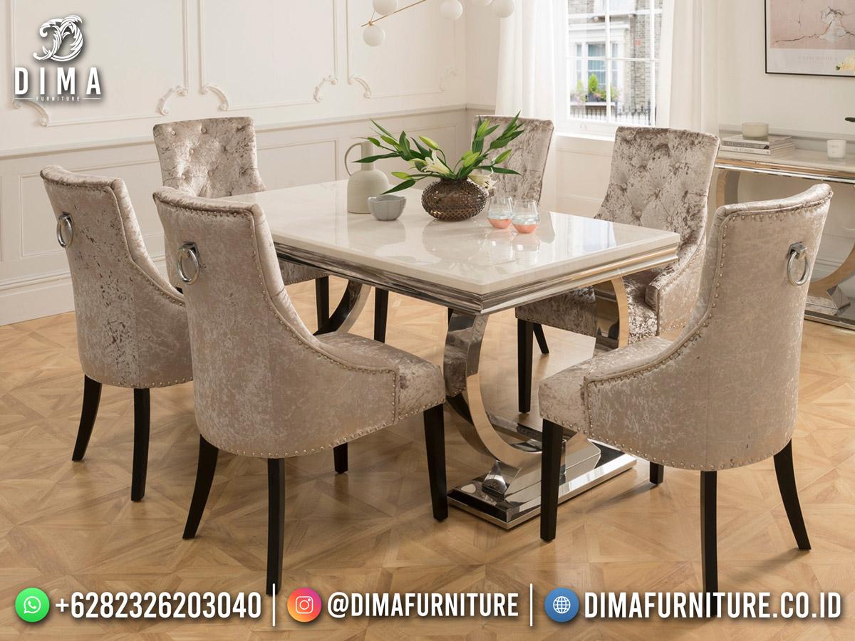 Model Meja Makan Terbaru Classy Luxury Best Furniture Product ST-1608