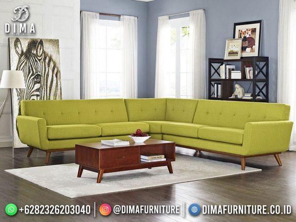 Model Sofa Tamu Minimalis Jepara Terbaru Lime Luxury Design ST-1599
