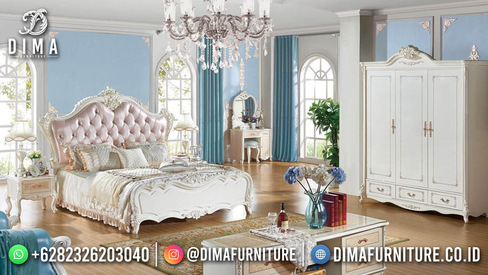 Queen Bed Dipan Kamar Set Mewah Beauty Glossy Best Quality ST-1636