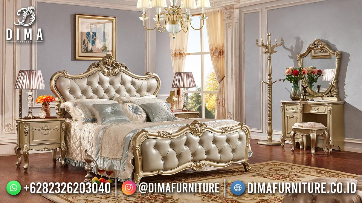 Ranjang Tidur Kamar Set Terbaru Golden Duco Furniture Mewah ST-1635